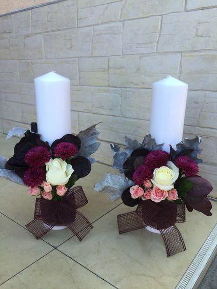 Lumanari cununie #candles #wedding #autumn
