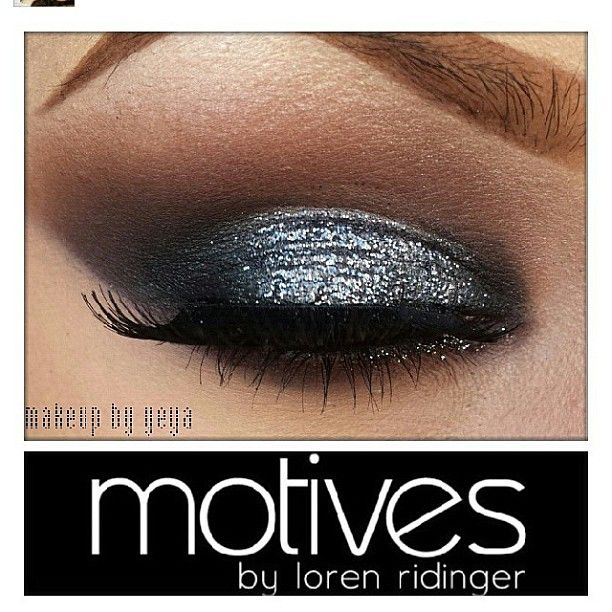 #RP @Jelena soto perfect for a night out! Using #motives base, cappuccino, vino, onyx and blizzard #eyeshadows glitter adhesive aspire glitter pot starry #eyes glitter #eyeliner and Khol liner in onyx #makeup #mua All #motives products for US/CAN available at motivescosmetics.com and internationally at GLOBAL.SHOP.COM