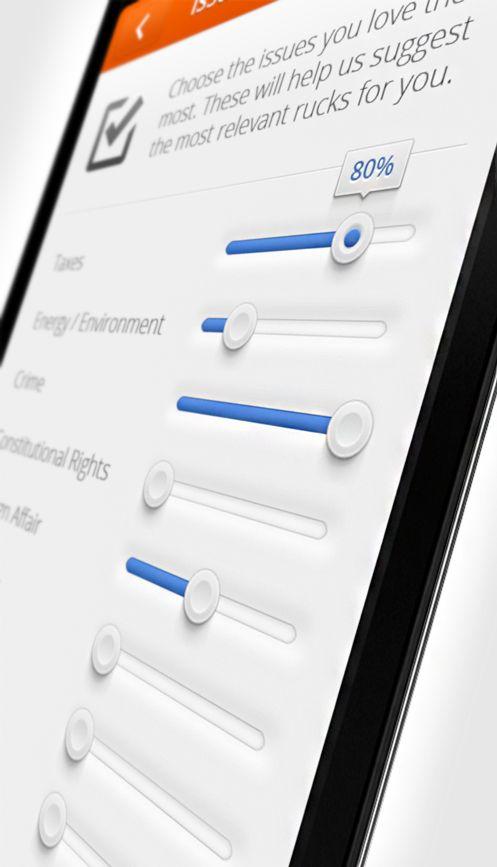 App-sliders