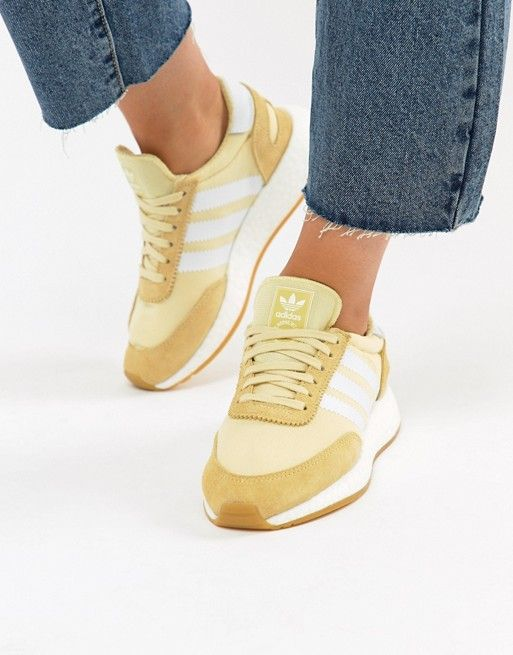 fe530d77e5dd66 adidas Originals I-5923 Sneakers In Yellow in 2019