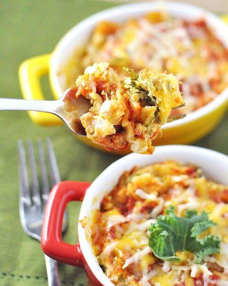 Cooking Pinterest: Slow-Cooker Vegetarian Lasagna with Mushrooms & Kale