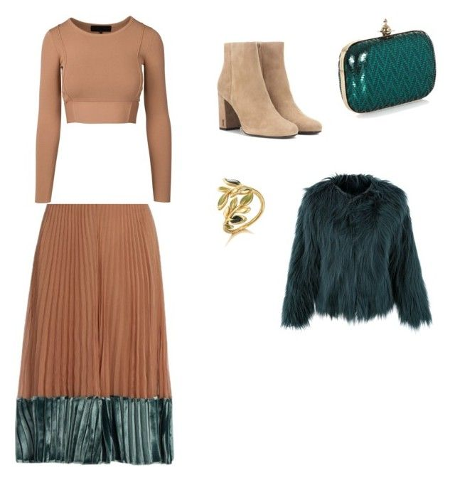 """Untitled #62"" by petricaiacob on Polyvore featuring Valentino, Yves Saint Laurent and Vivienne Westwood"