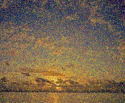 #pointillism #nightsky