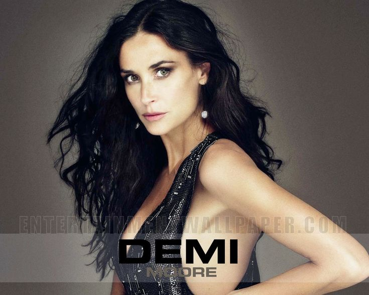 Demi Moore as an evil enchantress clinging to dark magic? Yes, please!