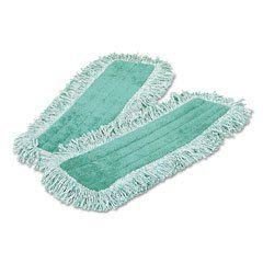 "Rubbermaid Q418GN Hygen Microfiber Dust Mop Head, 18"" Long, Fringed, Single-Sided, Green, 1 Mop Head by Rubbermaid. Save 82 Off!. $17.34. Best-in-the-industry performance with scrubbing strips and higher pile looped-end construction to capture and hold more dust and debris. All Rubbermaid Commercial Products microfiber textiles are bleach-safe and proven to last longer and provide better cleaning efficiency than non-bleach-safe textiles. Rubbermaid bleach-safe microfiber withsta..."