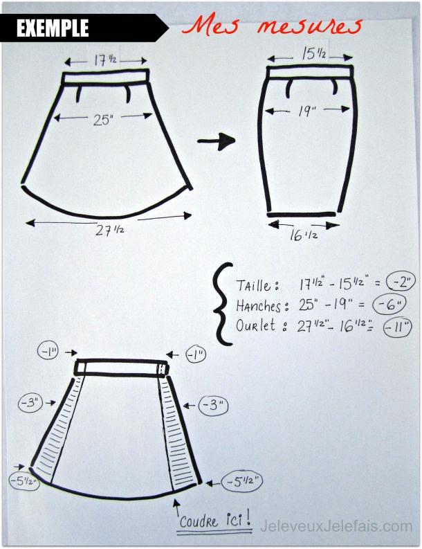 tutoriel couture jupe vas e jupe crayon les mesures couture. Black Bedroom Furniture Sets. Home Design Ideas