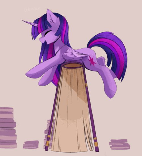 twilight sparkle,books,animated Me in a bookstore. Or a secondhand bookstore. Or a booktrade, which is basically the same thing, but better.