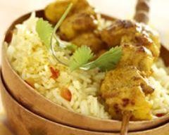 Poulet tandoori léger (facile, rapide) - Une recette CuisineAZ