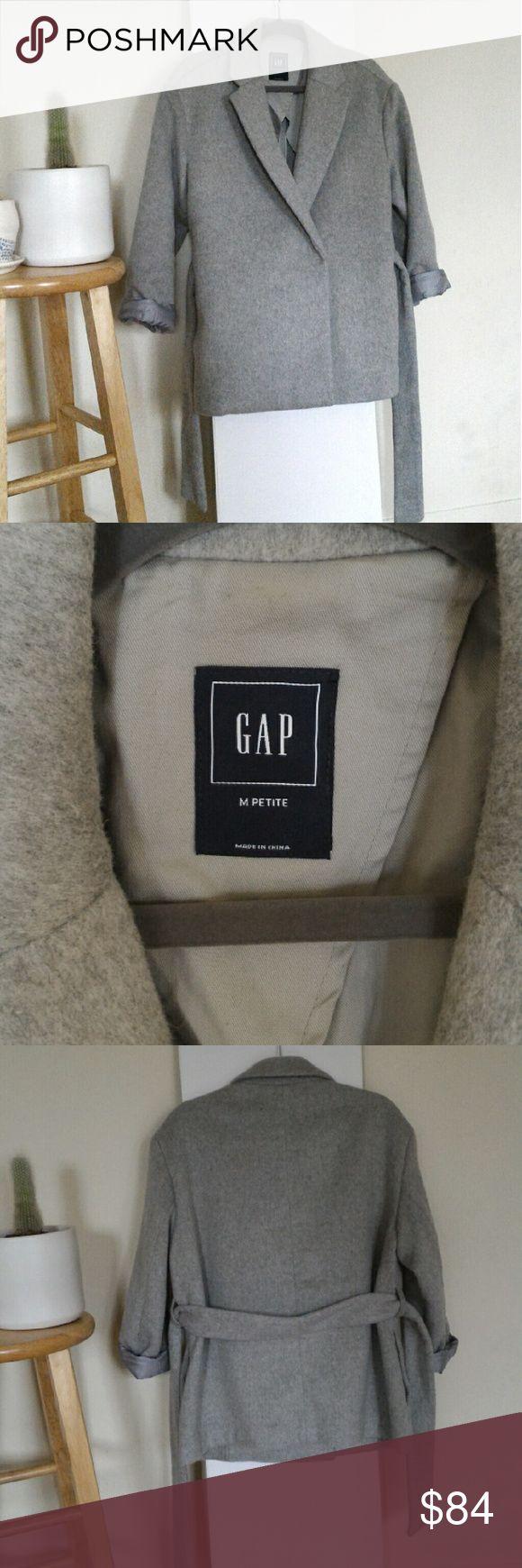 Gap Coat Brand new. Never worn. Light grey coat. GAP Jackets & Coats