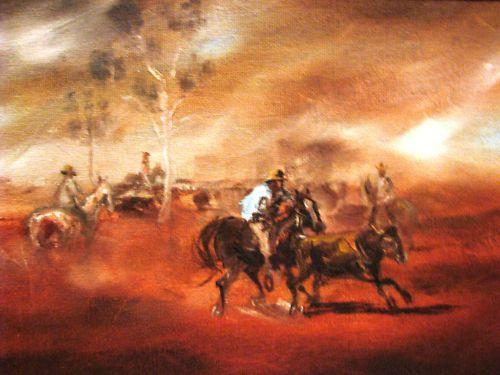 Patrick Kilvington oil  The Heading of the Scrubber  Australia
