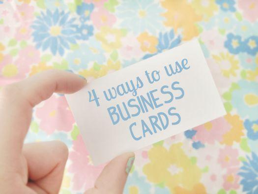 Scathingly Brilliant: 4 ways to use business cardsBrand Ideas, Business Cards, Jewelry Display, Biz Cards, Ideas Coupon, Diy, Scathingly Brilliant, Blog Spir, Cards Brand