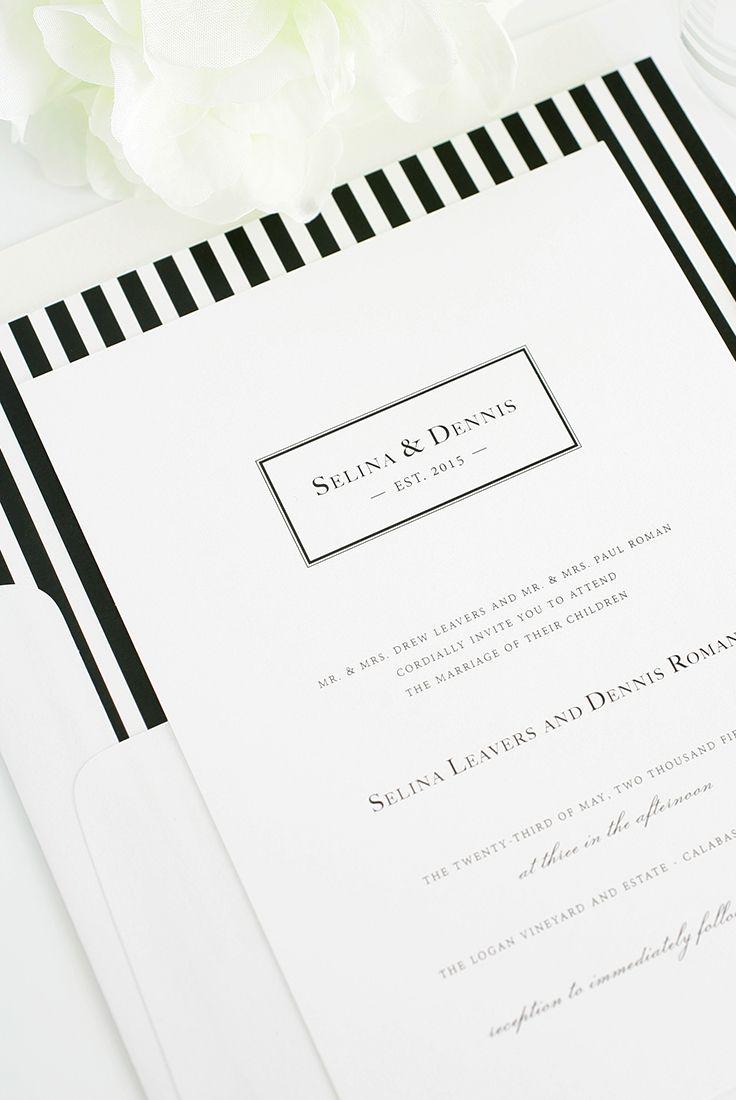 132 best Paper images on Pinterest | Bridal invitations, Wedding ...