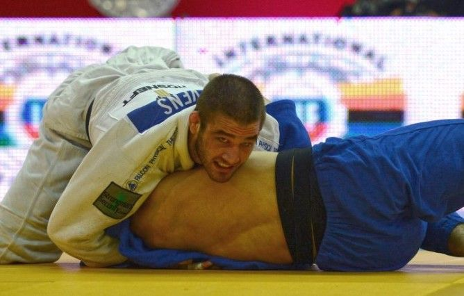 "International Judo Federation (IJF) has Prohibited in 2014 ""ranked"" Judo Athletes to Compete in BJJ & other international Grappling Competitions (including MMA). Nevertheless, IJF has developed its own circuit of Judo ""Ne Waza"" tournaments which basically follow very similar rules as BJJ with a focus on ground fighting."