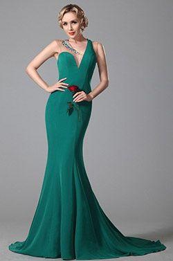 eDressit Ein Schulter  V Ausschnitt Abendkleid Formal Kleid (02150905) #Abendkleid #Ballkleid #eDressit #Mode