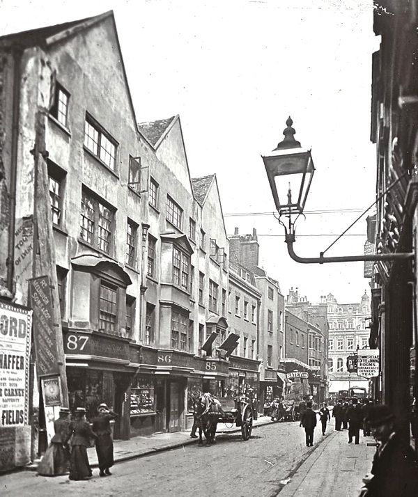 Fetter Lane, c. 1910 The Streets of Old London November 23, 2012 by the gentle author