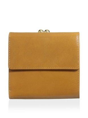 54% OFF Tusk Women's Framed Indexer Wallet, Wood