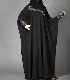 Latest Saudi Abaya Designs Fashion 2017 2018 Simple Black Burqa