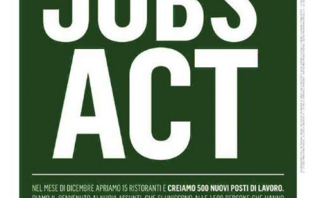 McDonald's lancia la campagna promozionale contro Renzi #renzi #jobsact #mcdonal's