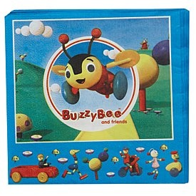 Buzzy Bee Party Napkins 20 Pack