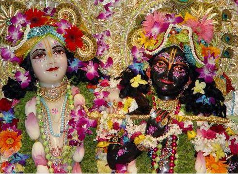Puja Blessing Kit from ISKCON Vrindavan - Krishna Balaram Mandir