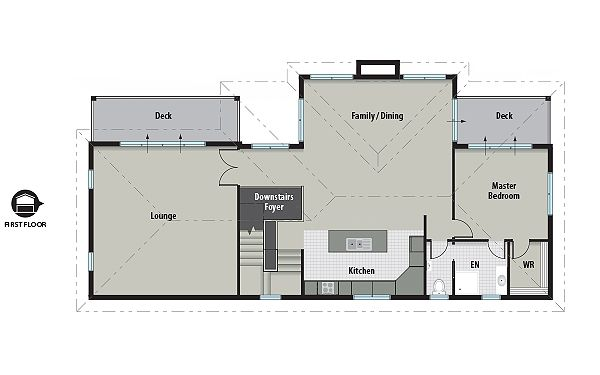 Elevator and home on pinterest for Beach house floor plans with elevator
