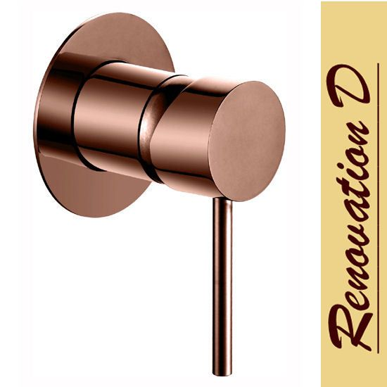 Rose Gold Lollypop Shower and Bath Mixer