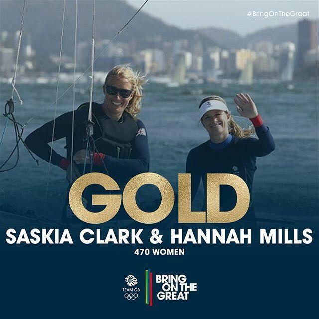 Saskia Clark & Hannah Mills | 470 Women