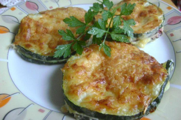 Zucchini Cordon bleu