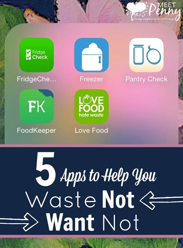 Ditch the paper inventory and use a pantry management app. These awesome apps will help you find recipes for leftovers, know when to toss food, and more.