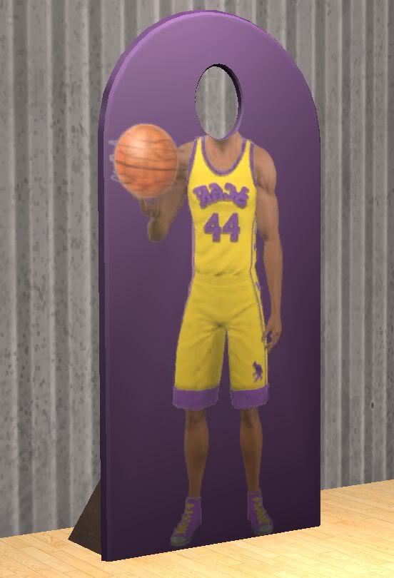 TheNinthWaveSims: The Sims 2 - Store T-Mobile Basketball Decor