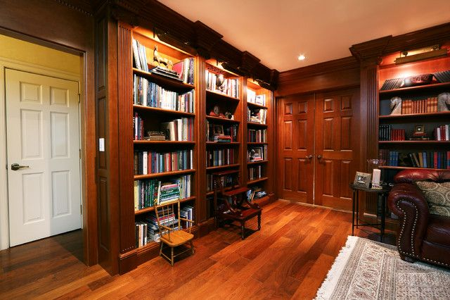 Tolle Inspiration Fur Ein Zeitloses Bibliothek Regale Buro Renovieren In Anderen Dunkelbraun Elegante Dekoration Mobe Regal Design Home Design Bibliothek Regal