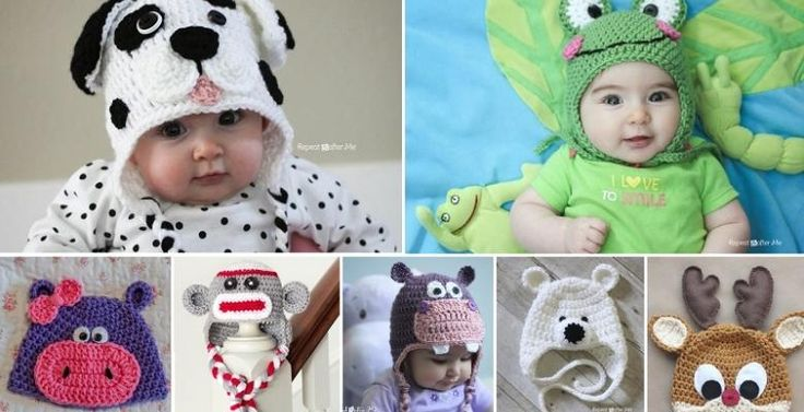 Un peu plus tôtje vous ai partagé 7 patrons gratuits de bonnets de bébé à faire au crochet! Pour le revoir, cliquez: ICI Comme le crochet et le tricot sont revenus très à la mode comme passe-temps, vous avez semblé beaucoup apprécier le billet. Alo