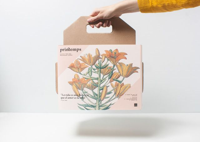 Printemps Take Away (Student Project) on Packaging of the World - Creative Package Design Gallery