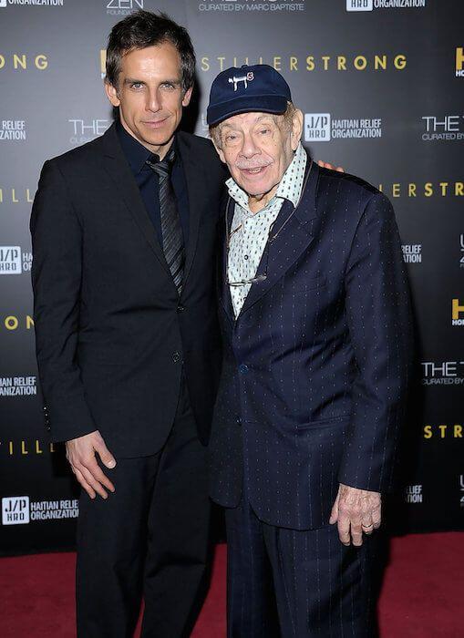 Jerry Stiller and Ben Stiller...