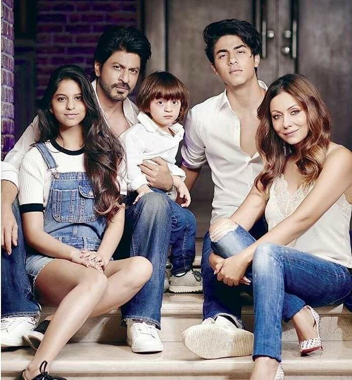 Shah Rukh Khan #family