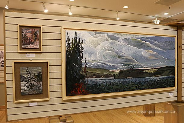 Art Gallery in the Algonquin Park Visitor Centre