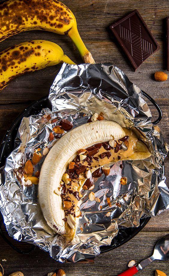Campfire Recipe: Banana Boat