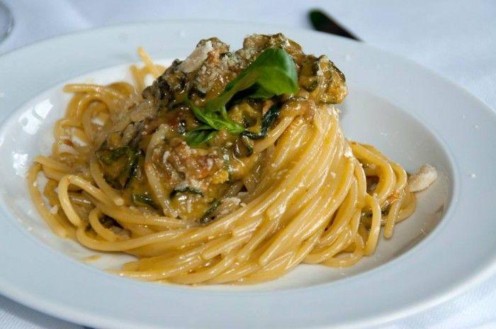 Spaghetti alla Nerano Lo Scoglio
