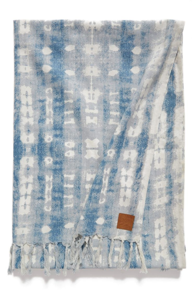 Billabong 'Gypsea' Tie Dye Cotton Beach Blanket