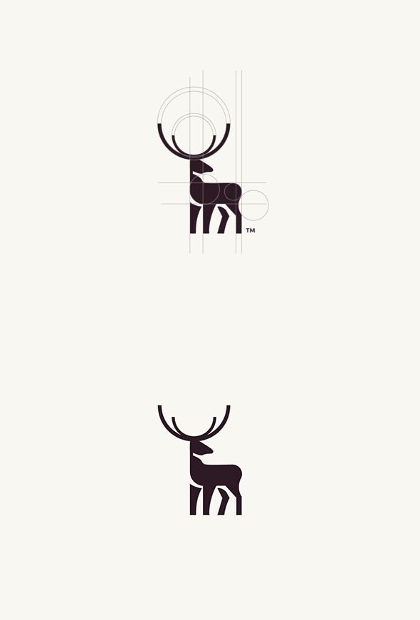 Geometric Animal Logos | PICAME @codiebannister what about a silverback as your logo? Simple and has meaning behind it.