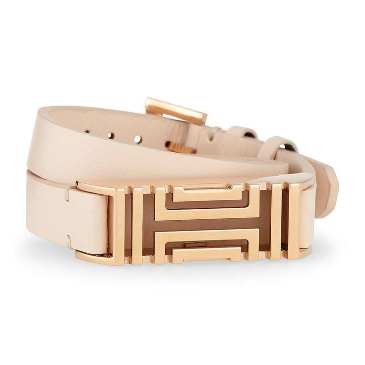 Wrap her up in something that'll get her fabulously fit. This ultra slick Tory Burch wrap bracelet disguises her Fitbit beautifully, so she can look good and do good for her body at the same time. With luxurious, leather straps and 16-karat gold plating, she's going to get fit the only way any designer-obsessed gal should ($87, neimanmarcus.com).Shop All Wrap Bracelets