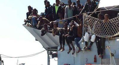 Sbarco di oltre mille migranti a Salerno, rinviata la festa della Polizia | Salerno e Provincia .NET