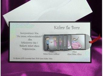 Invitatie de nunta haioasa, disponibila doar pe www.mopo.ro
