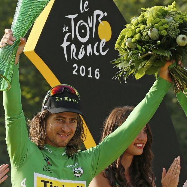 Peter #Sagan vince la classifica a punti #MagliaVerde