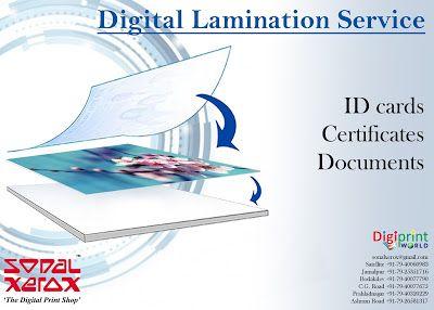 Sonal Xerox Digital Print Services: Digital Lamination Service at Sonal Xerox
