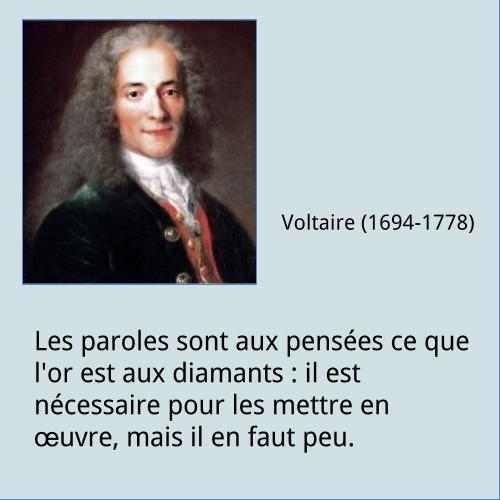 Voltaire - Citation