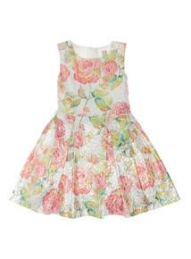 Multicoloured Metallic Occasion Dress (3 - 12 years)