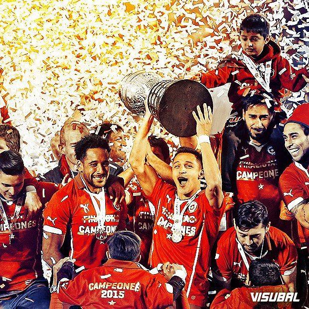 「#Chile  #Campeones #CopaAmerica #Visubal」