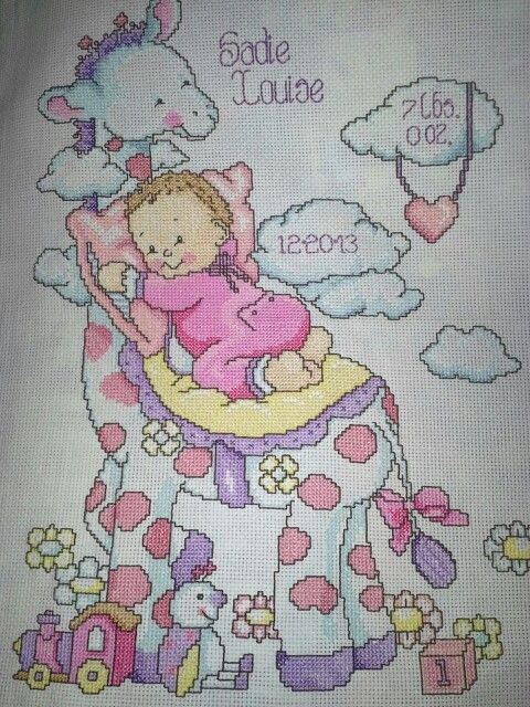 All finished...for my brand new baby niece Sadie Louise