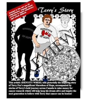 Terry's Story - Terry Fox's pictorial Marathon of Hope Language Unit $